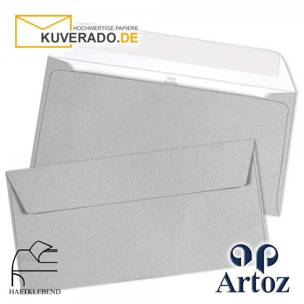 Artoz Mosaic metallic Briefumschläge in silber DIN C6/5