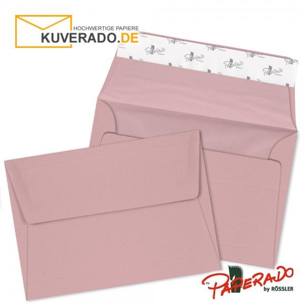 Paperado rosa Briefumschläge in rose DIN C6