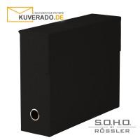 """S.O.H.O. Archivbox in der Farbe """"schwarz"""""""