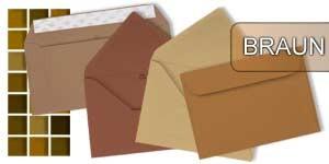 Braune Briefumschläge