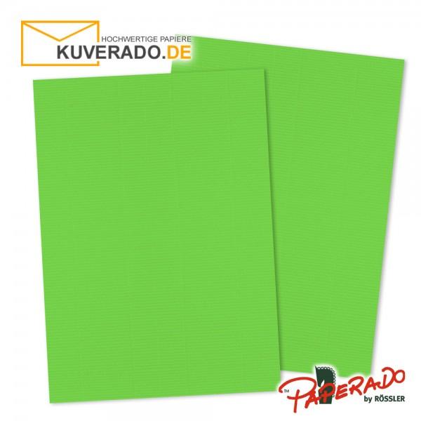 Paperado Briefkarton in apfelgrün DIN A4 220 g/qm