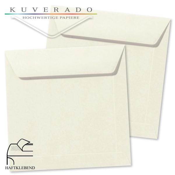 weiße Briefumschläge im Format quadratisch 160x160 mm