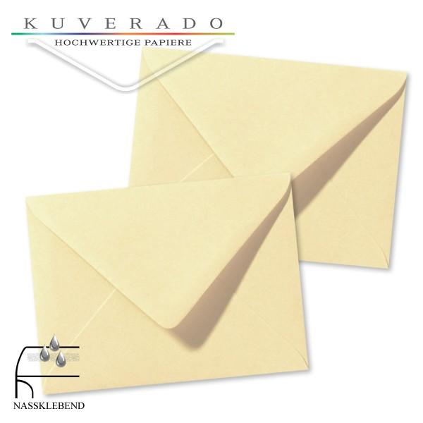 Beige Briefumschläge (Chamois) im Format 130 x 180 mm