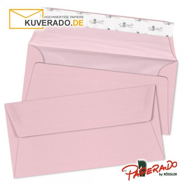 Paperado farbige Briefumschläge in rosa / flamingo DIN lang