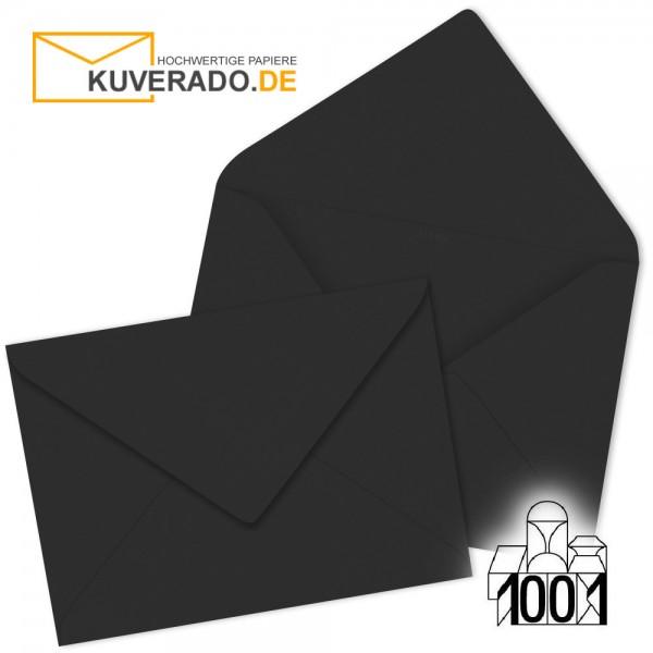 Artoz Briefumschläge schwarz 75x110 mm