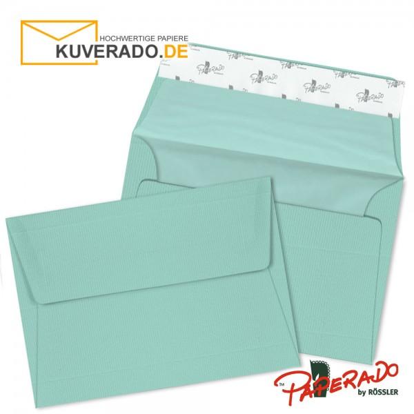 Paperado Briefumschläge karibikblau DIN B6