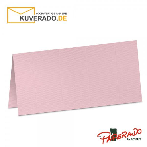 Paperado Tischkarten in flamingo-rosa
