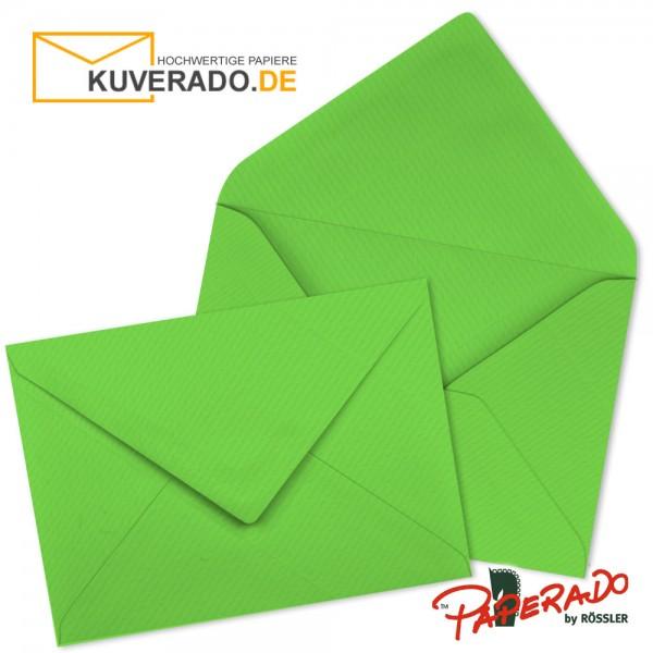 Paperado Briefumschläge in apfelgrün 225x315 mm nassklebend