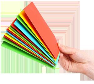 100 Briefumschl/äge mit hellem Seidenfutter in DIN lang = 220 x 110 mm mit Abziehstreifen