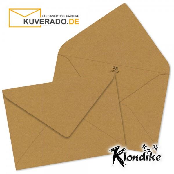 Artoz Klondike Briefumschlag in rotgold-metallic DIN E6