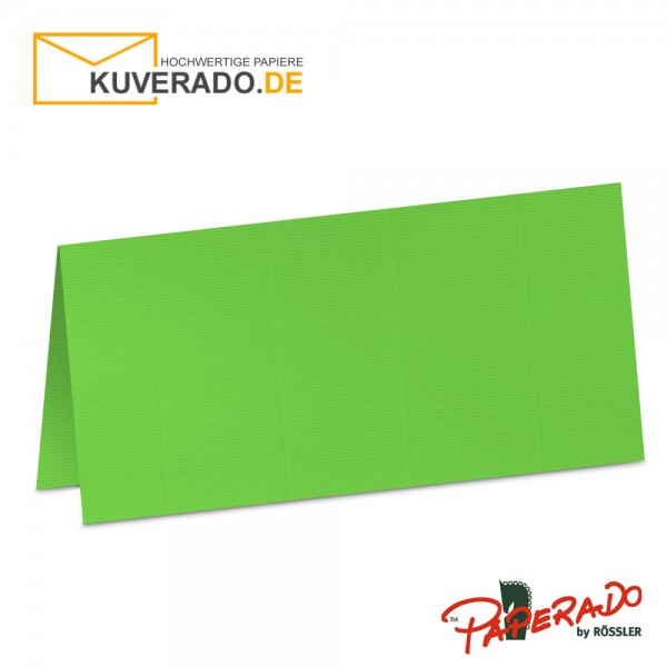 Paperado Tischkarten in apfelgrün