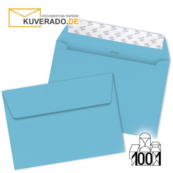 Artoz 1001 Briefumschläge azurblau DIN C4