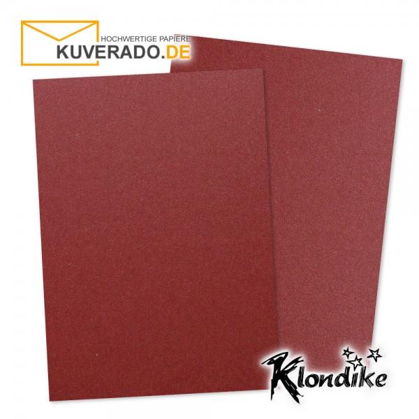 Artoz Klondike Briefpapier in rubin-rot-metallic DIN A4