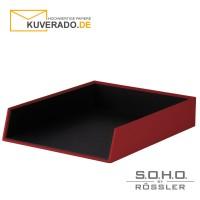 """S.O.H.O. Anlagekorb für DIN A4 in der Farbe """"rot"""""""