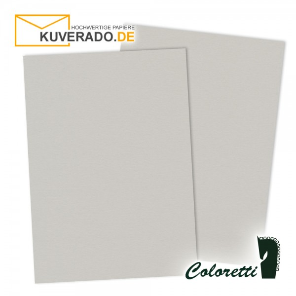 Graues Briefpapier in 165 g/qm von Coloretti