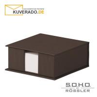 """S.O.H.O. Zettelkasten in der Farbe """"espresso"""""""
