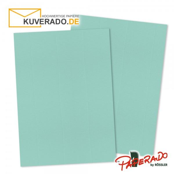 Paperado Briefkarton in karibikblau DIN A4 220 g/qm