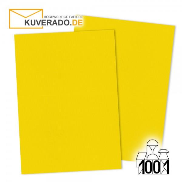 Artoz 1001 Briefkarton sonnengelb DIN A4 mit Wasserzeichen