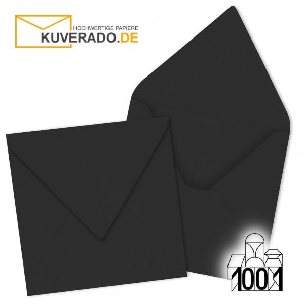 Artoz Briefumschläge schwarz quadratisch 135x135 mm