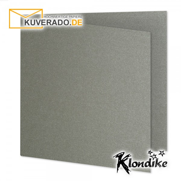 Artoz Klondike Karten in turmalin-metallic quadratisch