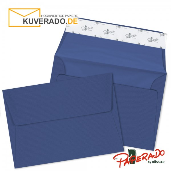 Paperado Briefumschläge jeansblau DIN C6