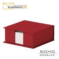 "S.O.H.O. Zettelkasten in der Farbe ""rot"""