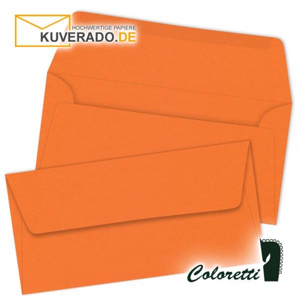 Orange DIN lang Briefumschläge von Coloretti