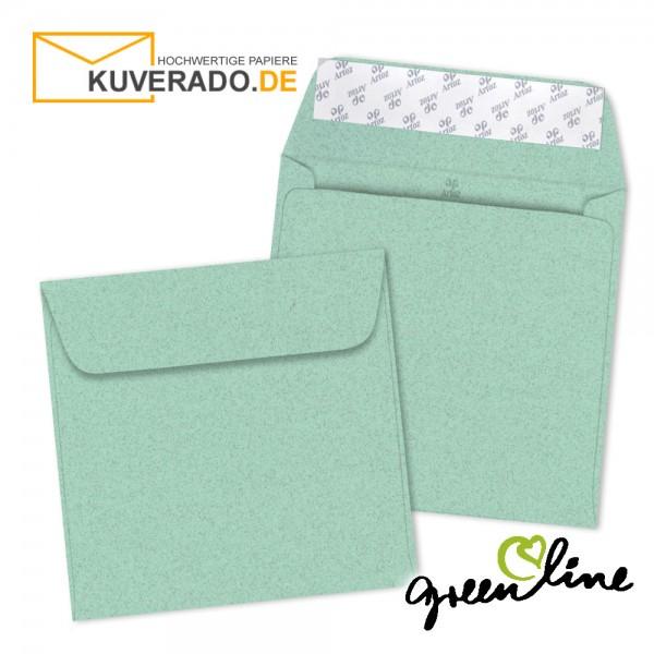 ARTOZ Greenline pastell | Recycling Briefumschläge in misty-green quadratisch