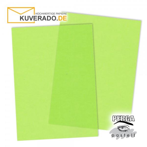 Artoz Perga Pastell - transparentes Briefpapier limone DIN A4