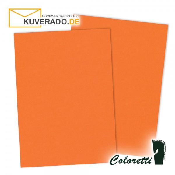 Oranges Briefpapier in apfelsine 165 g/qm von Coloretti