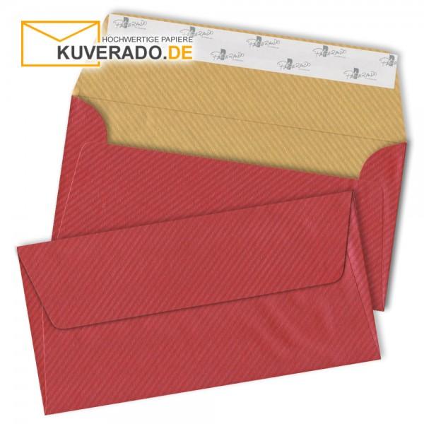 RÖSSLER Finer Paper | Briefumschläge in rot/gold DIN lang