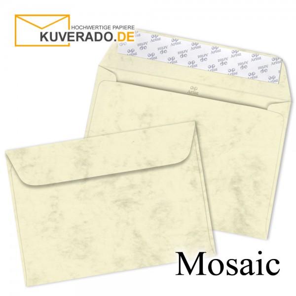 Artoz Mosaic marmorierte Briefumschläge in gelb DIN C5