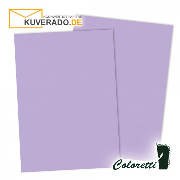 Lila Briefpapier in lavendel 80 g/qm von Coloretti