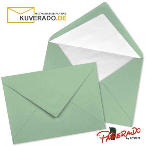 Paperado Briefumschläge in mint DIN C6 nassklebend