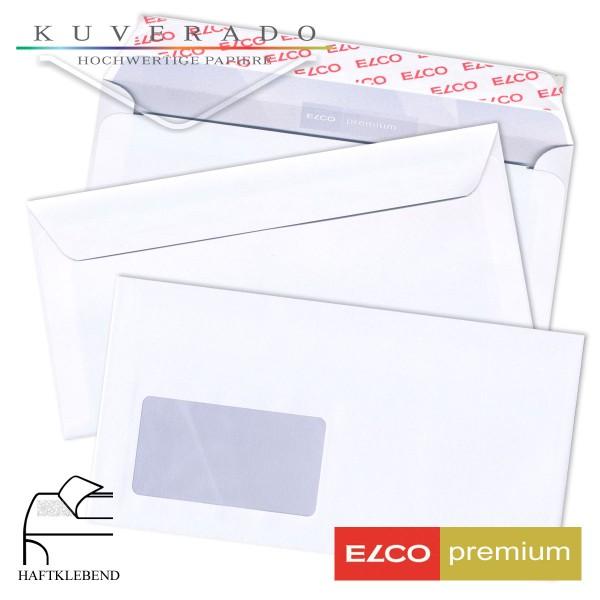 ELCO premium Briefumschläge in weiß DIN C6/5