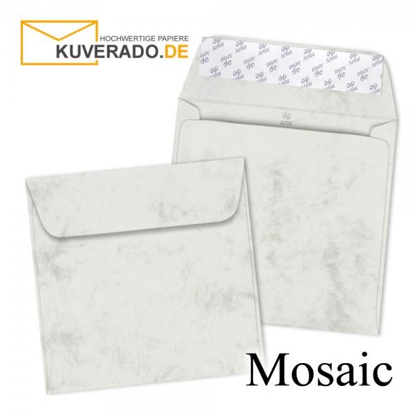 Artoz Mosaic marmorierte Briefumschläge in grau quadratisch