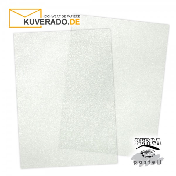 Artoz transparentes Briefpapier silber DIN A4