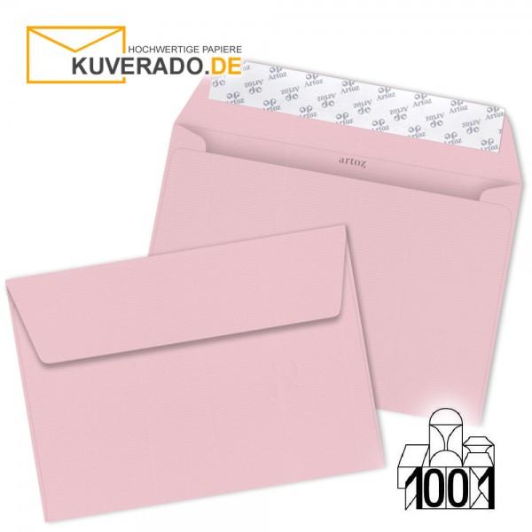 Artoz Briefumschläge kirschblüten rosa DIN C5