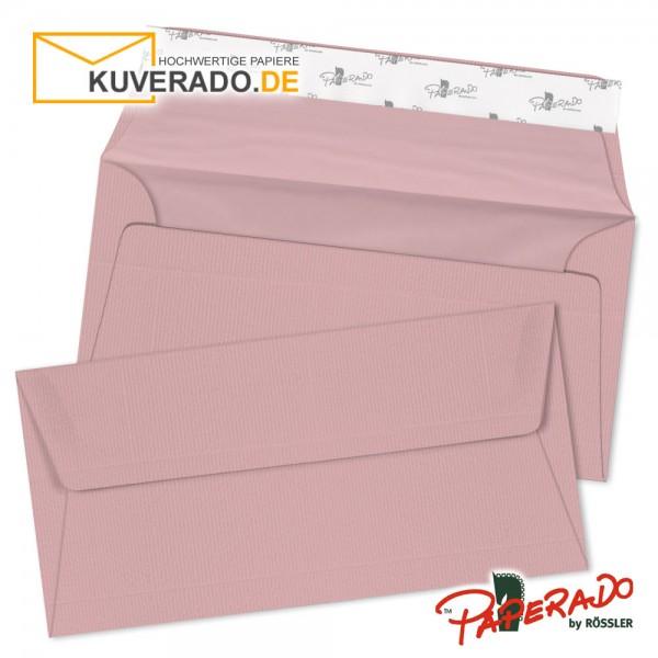 Paperado rosa Briefumschläge in rose DIN lang