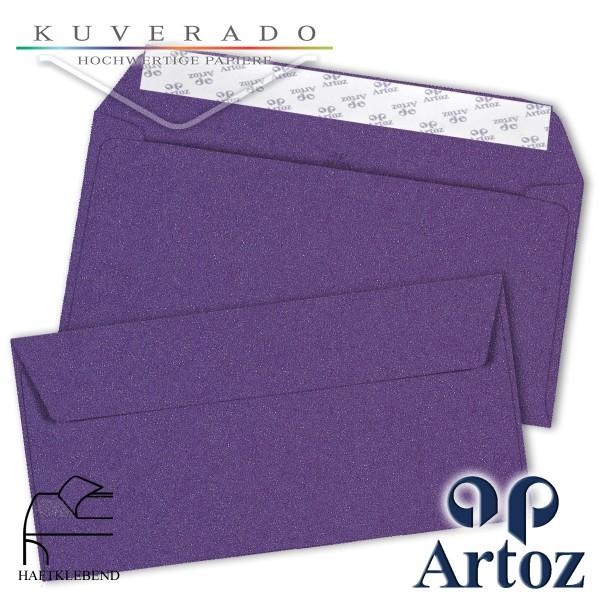 Artoz Klondike Briefumschlag in ametyst-metallic DIN C6/5