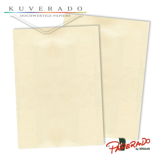 Paperado Briefpapier in candle-light-metallic DIN A4 100 g/qm