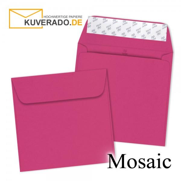 Artoz Mosaic neon pink Briefumschläge quadratisch