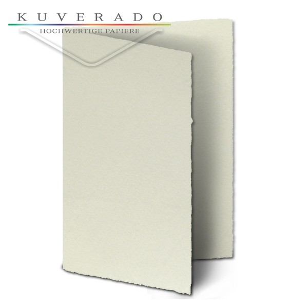 Büttenpapier Doppelkarten Diplomat