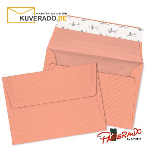 Paperado Briefumschläge in coral DIN C6 haftklebend