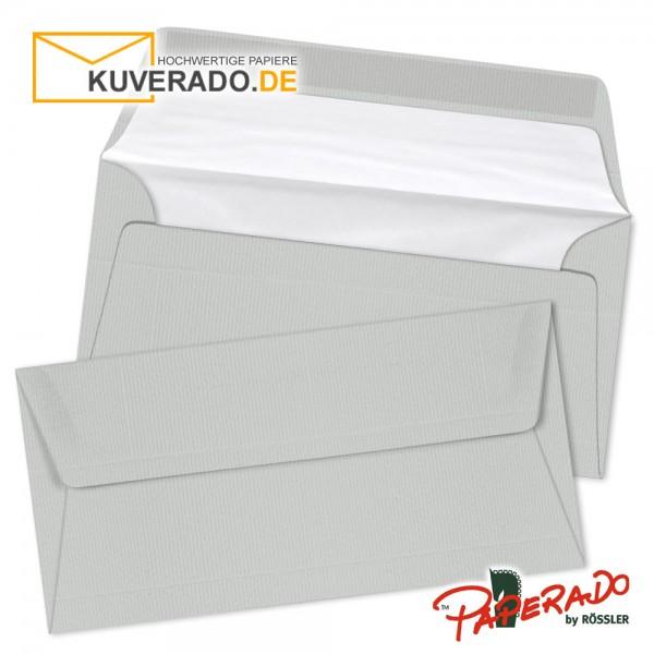 Paperado Briefumschläge eis grau