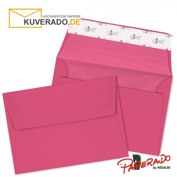 Paperado farbige Briefumschläge in rosa / fuchsia DIN C6