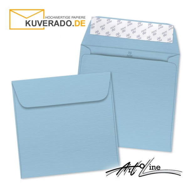 Artoz Artoline Briefumschlag in sky-blau quadratisch