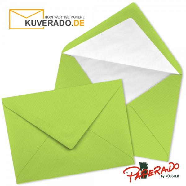 Paperado Briefumschläge in maigrün DIN C7