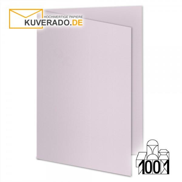 Artoz 1001 Faltkarten quarzrosa DIN B6 mit Wasserzeichen