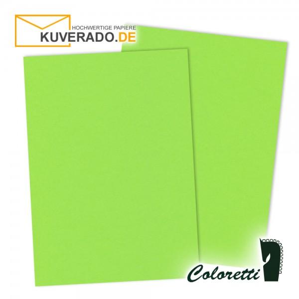Grünes Briefpapier in hellgrün 165 g/qm von Coloretti